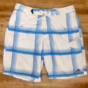 Adidas swim trunks 34
